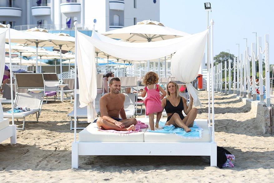 Hotel con Lettini VIP per famiglie