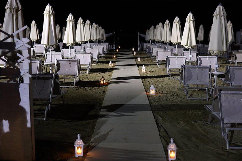 Hotel con feste in Spiaggia